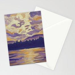 Okanagan Landscape in Purple and Hansa Stationery Cards