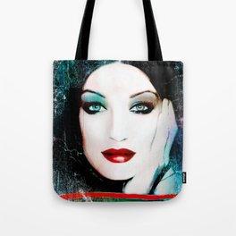 Blue look by Lika Ramati Tote Bag