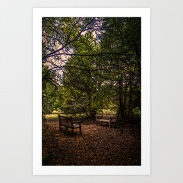 Two of us going nowhere Art Print