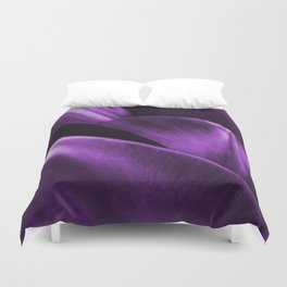 Ultraviolet Flower Petals #decor #society6 #homedecor Duvet Cover