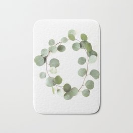 Eucalyptus Circle Bath Mat