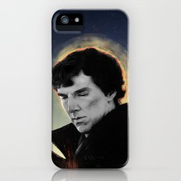 racing mind & human heart - Sherlock Holmes iPhone Case