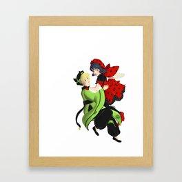 Miraculous Captors (white bg) Framed Art Print