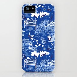 My chinese garden – my sanctuary iPhone Case