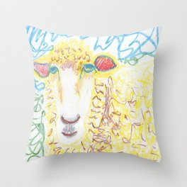 Ewegenie Throw Pillow