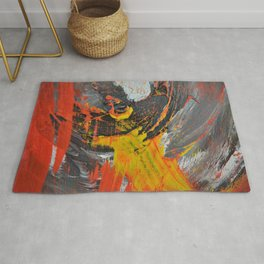 Motion in Abstraction Rug