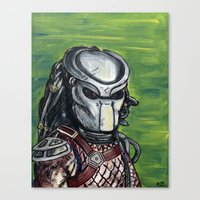 predator Canvas Prints featuring Predator by MSG Imaging