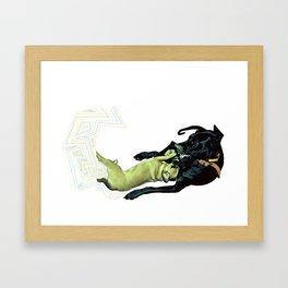 What The? Framed Art Print