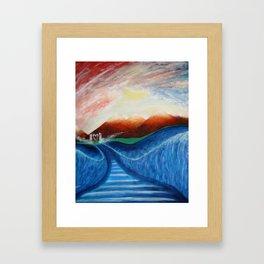 WALK BY FAITH Framed Art Print