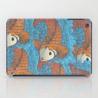 koi iPad Cases featuring KOI by Matthew Taylor Wilson