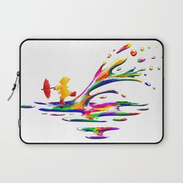 Splashing Laptop Sleeve