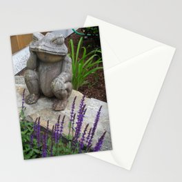 Wooden Frog Stationery Cards
