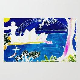 Sydney Opera House    AUSTRALIA                 by Kay Lipton Rug
