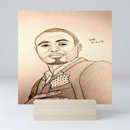 Wayne Brady by Double R Mini Art Print