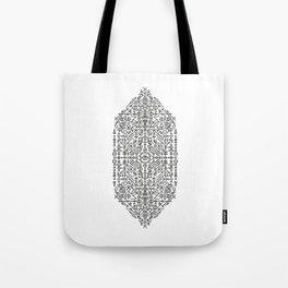 Glyphs - 03 (B&W Edition) Tote Bag