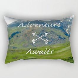 Icelandic Scenes - Adventure Rectangular Pillow