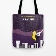 No756 My La La Land minimal movie poster Tote Bag
