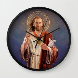 Saint Nicolas of Cage Wall Clock