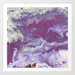 Pink Arctic Art Print
