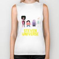 steven universe Biker Tanks featuring Steven Universe by NeleVdM