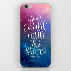 Rattle the Stars iPhone Skin