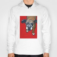 lucy Hoodies featuring Lucy by Pawblo Picasso