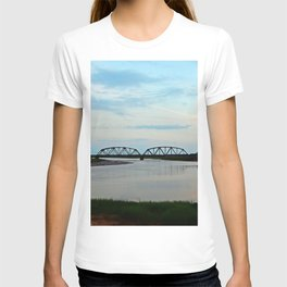 Sackville Train Bridge at Sunset T-shirt