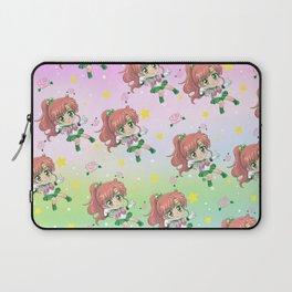 Sailor Jupiter Pattern Laptop Sleeve