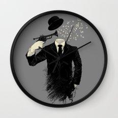 Blown Wall Clock