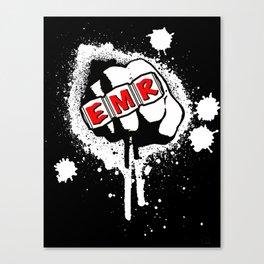 EMR crew logo rmd tweak Canvas Print