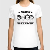 anchorman T-shirts featuring news team - the anchorman by Buby87