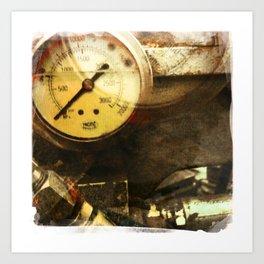 zero gauge Art Print