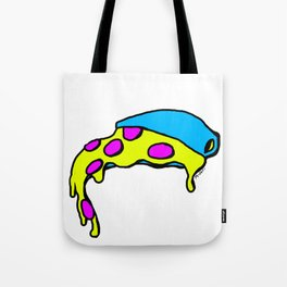 Overflow Pizza Tote Bag