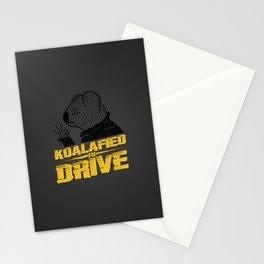 Koalafied To Drive Stationery Cards