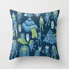 Wow! Mummies! Throw Pillow