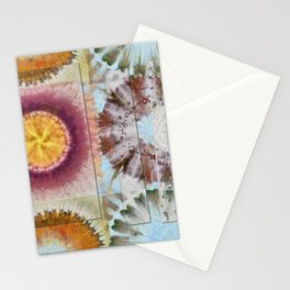 Tacheometry Natural Flower  ID:16165-065451-00761 Stationery Cards