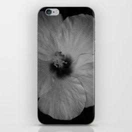 Hawaiian Dreams in Black and White  iPhone Skin