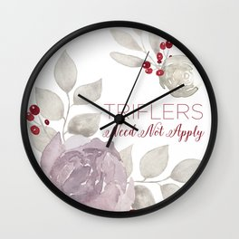 MFM: Triflers Need Not Apply Wall Clock
