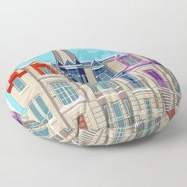 Montreal - Quebec - Canada Floor Pillow