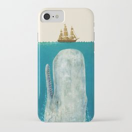 The Whale - colour option iPhone Case