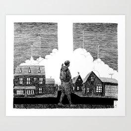 Missiles Art Print