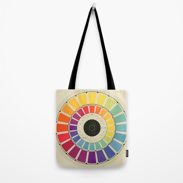 Color Wheel Spinner Tote Bag By Anitanh Society6