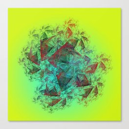 simply creative Canvas Print