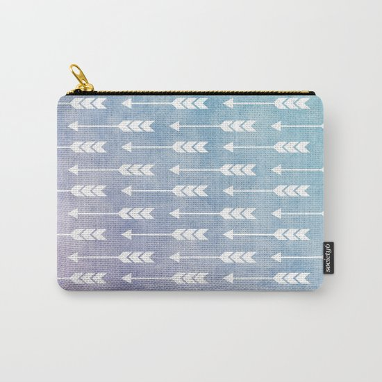 Aztec Pattern 09 Carry-All Pouch