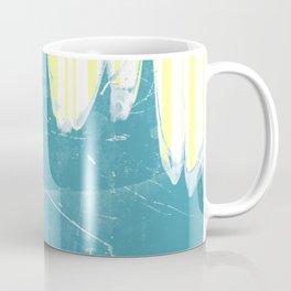 water&yellow stripe Coffee Mug
