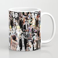college Mugs featuring Punk Niall Horan College by Becca / But-Like-How