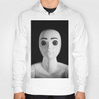 alien Hoodies featuring Alien by Adrian Evans