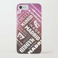 madrid iPhone & iPod Cases featuring Madrid by Rafael CA