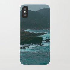 Big Sur Rocky Shore iPhone X Slim Case