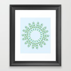 Country floral 4 Framed Art Print